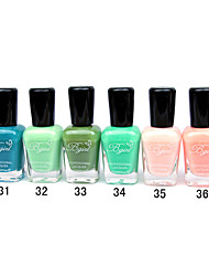 French Imports Makings Pro-environment Nail Polish NO.31-36(16ml,Assorted Color)