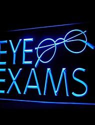 проверка зрения очки рекламную привело свет знак