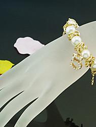 numéro de la perle 5 forme de bracelets shixin® Golden Strand cru (1 pc)