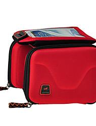 Bolsa para Cuadro de Bici / Bolso del teléfono celular Ciclismo Para Listo para vestir / Pantalla táctil , Rojo / Others ,EVA / Ripstop