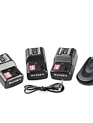 WanSen  PT-16GY  PT16GY 16 channels Wireless Radio Flash Trigger Transmitter with 3 Receivers for Canon Nikon Pentax Camera