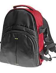 BB70 Nylon Backpack for Universal DSLR 39 x33 x18 cm(Black,Black-Blue,Light Gold-Black,Deep Gold-Black)