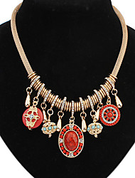 Welly Women's Vintage Ethical Style Necklace