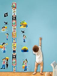 Createforlife ® heureux de bande dessinée d'enfants d'enfants autocollant de pièce de crèche mur Wall Art Stickers