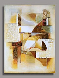 Hand Painted Abstract Oil Painting with Stretched Frame Ready to Hang