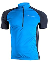 Nuckily Cycling Jersey Men's Short Sleeve Bike Jersey Tops Quick Dry Ultraviolet Resistant Wearable Breathable Polyester PatchworkSpring