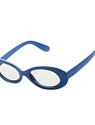 m&k gafas 3d luz polarizada con dibujos de chledren retardador para el cine y la TV en 3D de RealD (azul)