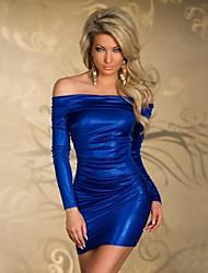 Женское приталенное клубное платье