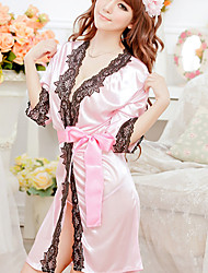 AISIQI Noble Ol Kimono Set Sexy Lingerie (rosa)