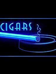 sigaro pubblicità fumo ha condotto il segno della luce