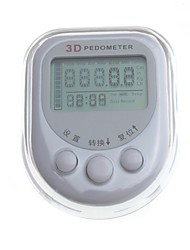 YuanBoTong   Smart Sensor 3 Key Series 3D Pedometer with Date/Time/Data Store