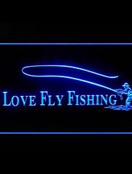 eu amo voar publicidade pesca levou sinal de luz