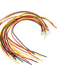 placa de extensão raspberry pi fio conexão GPIO - colorido (8 peças)