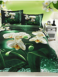 Ailianna 4 Piece 3D Canvas Print Duvet Set 13008