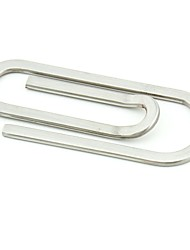 Stainless Steel  Money Clip - Paperclip