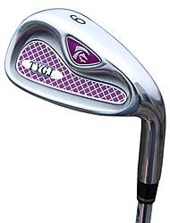 TTYGJ Golf Club de Mujeres 35 pulgadas 9 # R / LZinc aleación Jefe Eje de acero Niblick