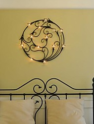 Metal Wall Art Wall Decor Circular Candlestick Wall Decor Attached To The Glass