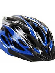 acrono 22 aberturas azul verde integralmente moldado capacete ciclismo (57-62 centímetros)