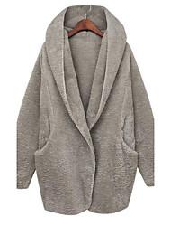 la mode manteau de manteau occasionnel de kamengsi femmes