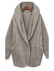 De kamengsi vrouwen mode ongedwongen mantel jas