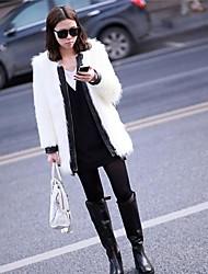 Nouveau Mode élégante occasionnelle pleine manteau épais des femmes
