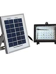 2W солнечная панель белая солнечная система освещения наводнение лампа с 30 светодиодов