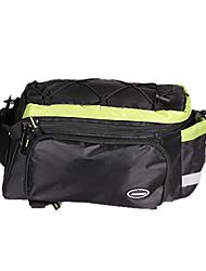 jakroo panno impermeabile sacchetto impermeabile tronco indossabile mountain bike verde con striscia riflettente