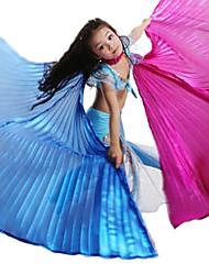 Doble color se va volando la danza de vientre de rendimiento para niños (más colores)