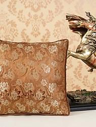 AOMAO ® 16'Brocade plantas e flores de seda Almofada Quilt e Pillow multifunções