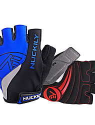 Sports Gloves Cycling Gloves Bike Fingerless Gloves Men's / UnisexAnti-skidding / Wearproof / Wearable / Protective / Article Glances /