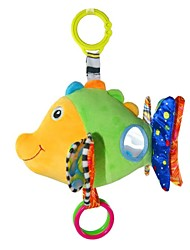 Babyfans ™ para bebés de peluche de dibujos animados Juguetes Bonito Música Fish
