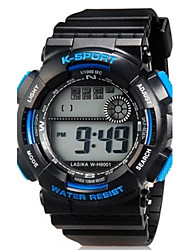 Children LED Digital Multifunction Sports Wrist Watch 30m Waterproof