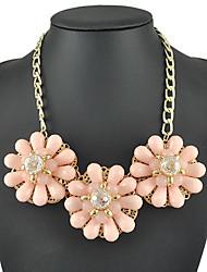 yumfeel großen Blumendekoration Frauen frischer Stil Halskette