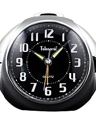 Telesonic ™ Night-light Snooze roulage muet superbe réveil