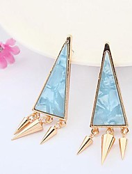 Women's Fashion Punk Triangle Stud Earring