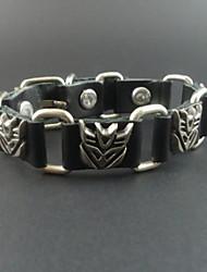 pulseira de couro transformadores do vintage dos homens