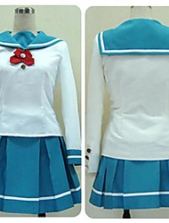 Inspired by The Idol Master School Uniform Cosplay Costumes