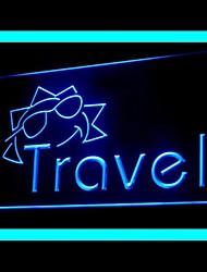 Travel Agency Sun Shine Advertising LED Light Sign
