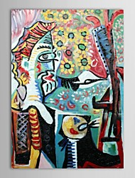 Hand Painted Oil Painting Museum Masters Paintings Pablo Picasso Reproduction with Stretched Frame