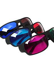 reedoon vermelho / / azul óculos vermelho azul verde marrom 3D para computador tv (4 peças)