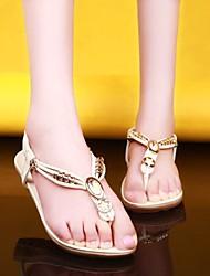 женская плоский каблук флип-флоп сандалии обувь (больше цветов)