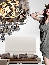 Flush Mount Lights Glass Crystal Metal  European Pattern Fashion Modern