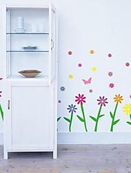 Doudouwo® Florals Plants and Flowers Wall Stickers