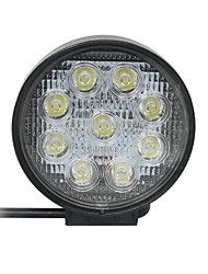 27W spot 9 Epistar LED Light Bar Offroad Car LED Light Bar circulaire lampe de travail