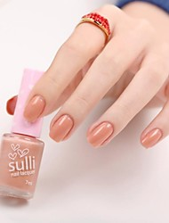 Sulli The City Of A New Generation Of Tasteless Green Nail Polish The Twilight Nude Love
