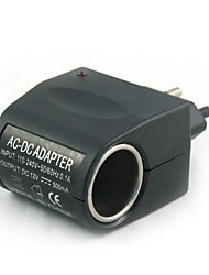 100V-240V AC to 12V DC Power Cigarette Lighter(EU Plug)