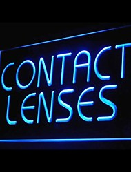 Contact Lenses Advertising LED Light Sign