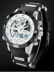 Men's Watch Sports Multi-Function Dual Time Zones Water Resistant Cool Watch Unique Watch Fashion Watch