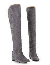 Women's Wedge Heel Riding Boots Knee High Boots (More Colors)