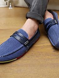 men'sshoes плоским пятки круглые бездельники носок обуви